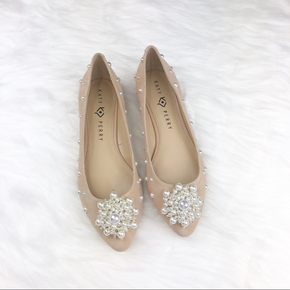 Katy Perry The Lady Pearl Suede Nude